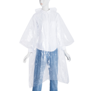PE-disposable regenponcho van PE