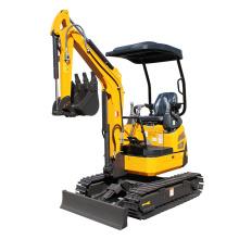 1.8 ton crawler excavator with steel track mini excavator XN18 for sale