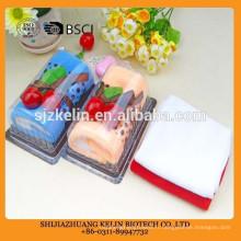 Serviette de gâteau de main colorée pour les mariages Gâteau serviette / cadeau serviette / visage serviette / serviette de plage / serviette à la main;