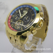 High Quality Stainless Steel Wholesale Men's Wrist Automatic Watch