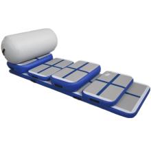 6 предметов Airtrack синий цвет Домашняя гимнастика Eidtion коврики оборудованием