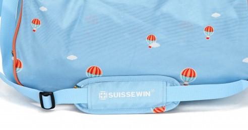 Waterproof Shoulder Suisswin Messenger Bagstrap