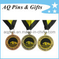 Zinc Alloy Medals with Soft Enamel Color for Swimming Club