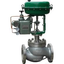 Válvula pneumática de controle de fluxo tipo diafragma globo (HTS)