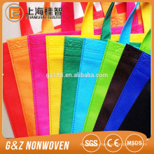 china pp woven bag shopping bag eco-friendly make-to-order colorful