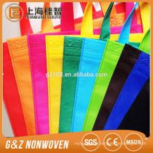 china pp tecido saco de compras eco-make-to-order colorido