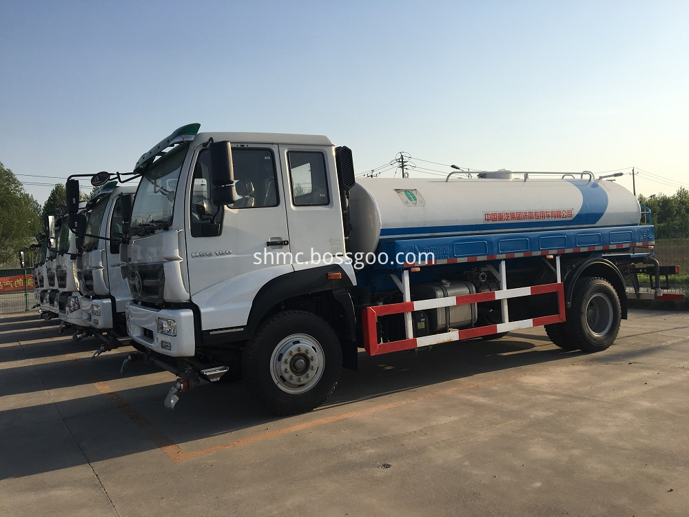 Howo 4 5m3 Water Tank Truck