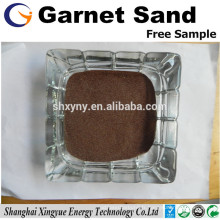 découpage au jet d'eau matériau abrasif 36mesh grain de sable grenat rouge