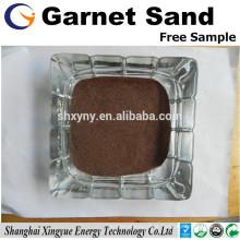 corte de jacto de água material abrasivo 36mesh granada de areia de granada vermelha