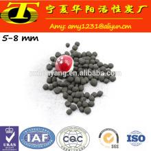 Material de purificação de água e gás Carvão ativado esférico a base de carvão antracite
