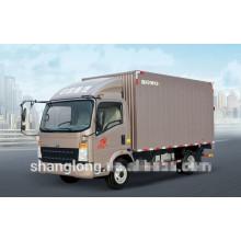 Caminhão leve da caixa do dever 4x2 HOWO 3-10ton mini