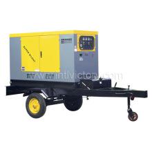 Звуконепроницаемые подвижные генераторные установки 10кВА ~ 200 кВА