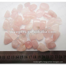 Rose Quartz tumbled stone,high polish