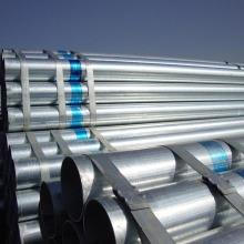 8 tuyau de plomberie structurelle en acier galvanisé