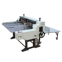Semi-auto board slitting machine