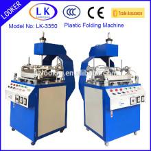 Máquina de Rolamento de Borda Plástica Cilíndrica Mannual para blister