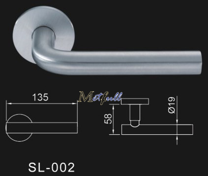 L Type Door Handle