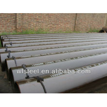 L'usine de prix des tuyaux en acier de l'annexe 40 / erw astm a53b a106b