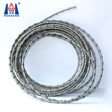Stone block cutting tools 8.8mm plastic diamond wire saw for sale