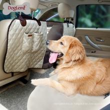 Doglemi Atacado Dog Seat Deluxe Tampa de Assento Do Carro Pet Mesh Car Barreira Para Pet