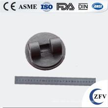 Fundición de hierro gris de placa de válvula