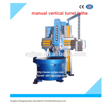 China new manual vertical turret lathe Price for hot sale in stock