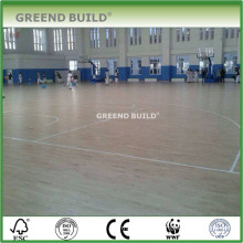 Oak wooden flooring for shcool sports hall