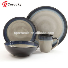 Fashion design antique ceramic dinner set