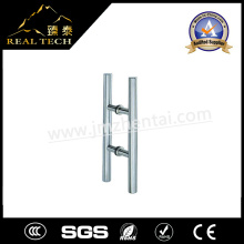 Stainless Steel H Shape Back to Back Pull Handles for Office Glass Door
