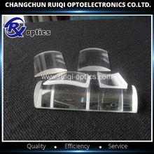 Sapphire double convex cylindrical lens