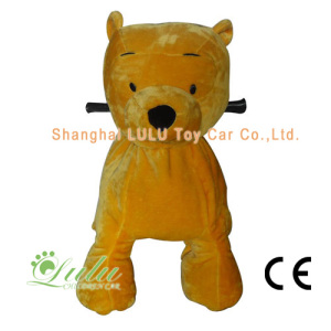 OEM/ODM China for Animal Rides Yellow Bear Animal Rider Coin Operated Machine supply to Fiji Suppliers