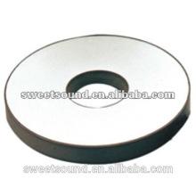 35mm piezoeléctrico pzt anillo de cerámica precio transductor ultrasónico