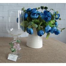 Borosilicate Glass Goblet Cup for Wedding Decoration