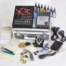 China for Tattoo Gun Kits Two Machine Tattoo Starter Kits supply to Tunisia Manufacturers