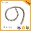MB582 Dekorative modische Beutel Teile Kette Silber Metall Kette für Tasche Zubehör