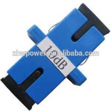 Adaptateur fibre optique SC / FC / ST / LC / MU / MTRJ, connecteur optique, adaptateur 5db-30db / adaptateur / adaptateur à fibre optique optique atténuateur