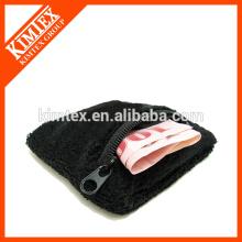 Terry Baumwolle billig benutzerdefinierte Großhandel Handgelenk Reißverschluss Schweißbänder