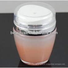 30ml 50ml de plástico de luxo acrílico Airless Jar
