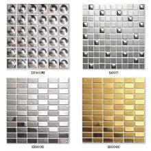Mosaico De Cerámica De Plata