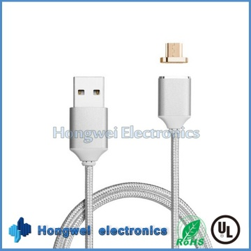 Android Micro Magnetic Adapter Lade USB-Kabel für Smart Phone Tablet