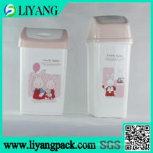 Lovely Rabbit, Heat Transfer Film for Trash Bin