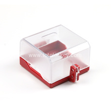 Transparent Plastic Wall Emergency Switch Button Lockout