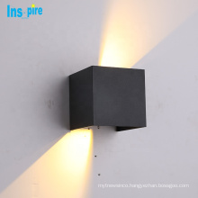 Home Decor Square 10W IP65 Waterproof Led Up Down Outdoor Wall Light