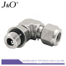 316 Forged Stainless Steel High Pressure Instrument Elbow Pipe Fitting