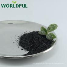 Natürlicher organischer Dünger Kalium Fulvate Shiny Flake mit Fulvosäure 15% min und Huminsäure: 60% -70% min
