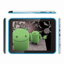 8-inch Capacitive Multi-touch Screen Dual Core Tablet PC, Cortex-A9 1.5GHz, 1024x768, GPS, Bluetooth