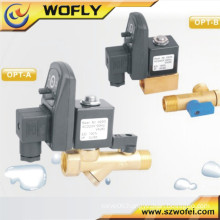 OPT A/B 2/2 way direct-acting electronic drain valve