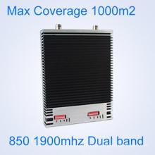 CDMA 850 PCS 1900 MHz Cell Phone Signal Booster Indoor High Gain Amplificateur de répéteur de signal à double bande GSM 3G