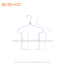 Aluminum Wire Kids Hanger With Twisted Neck AL003