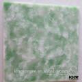 panneau de mur en résine translucide, feuille translucide de surface solide acrylique